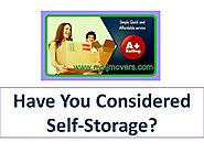 Have You Considered Self-Storage?
