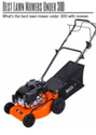 Best Lawn Mowers Under 300: What's the best lawn mower under 300 with reviews