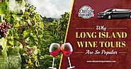 Why Long Island Wine Tours are so Popular?