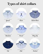 Types of Men's Shirt Collars You Must Know