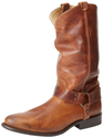 FRYE Women's Wyatt Harness Leather Boot,Cognac,7.5 M US