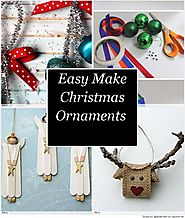 Easy Make Christmas Ornaments