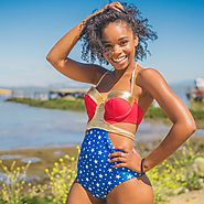 The Oneder Piece (Wonder Woman) Swimsuit $89.50 @ Chibbies