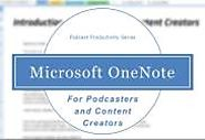 Podcasting with OneNote | Podcast Hero ™ | Podcasting and New Media Blog | How to make a podcast? | Social Media for ...