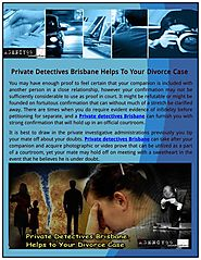 Private Detectives Brisbane - Agency99