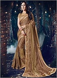 Let Your Wardrobe Welcome 2018 With Chic Saree Collection In It!