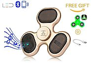 Top 10 Best LED Fidget Spinner with Bluetooth Speakers Reviews 2017 on Flipboard