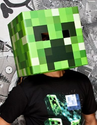 Official Minecraft Creeper Head Cardboard Mask 12 Inches By 12 Inches