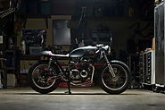 U.K.550 Is A Honda CB550 Cafe Racer by Kott Motorcycles