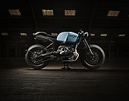 Indian Craftsmanship Mastered In Britain: Sinroja R3 BMW R100 Cafe Racer