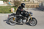 Two New Triumph Cafe Racers Spied testing