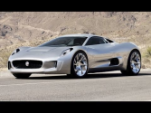 Jaguar C-X75 Electric-Turbine Concept