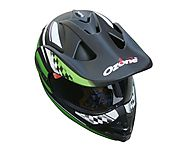 Black Green Bluetooth Bike Helmet @ 47% Off