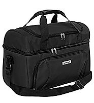 HomeStock Large Cooler Bag (Black) 18x12x10 Inches
