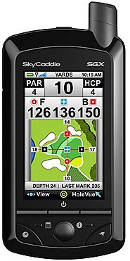 SkyCaddie SGX Golf GPS Review