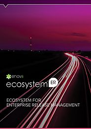 Ecosystem For Enterprise Release Management @ Enov8