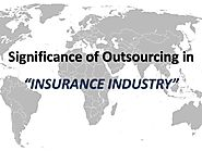Significance of Outsourcing in Insurance Industry - Cogneesol