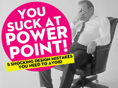 You Suck At PowerPoint! by @jessedee