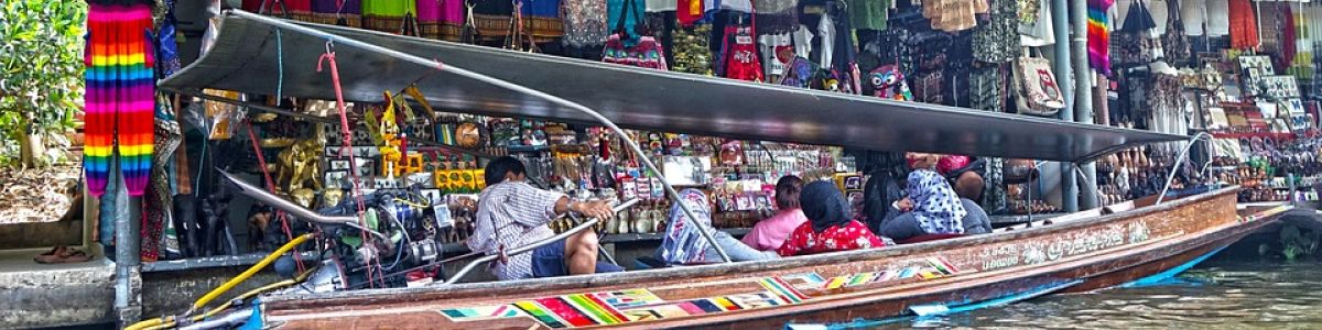 Headline for List of Floating Markets in Bangkok – Retail Therapy on the Water