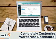 How to completely customize your WordPress dashboard for admin and users?