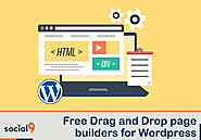 Free WordPress Drag and Drop Page Builders to get the job done quickly