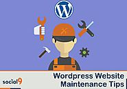 Wordpress Website Maintenance Tips to keep it Running Smoothly
