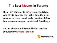 Best Movers in Toronto by Movers4you Inc - Issuu