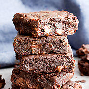 Ultimate Fudgy Paleo Vegan Brownies (Gluten Free, One Bowl, Paleo, V) - Beaming Baker