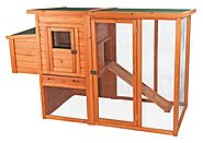 TRIXIE Pet Products Chicken Coop with Outdoor Run