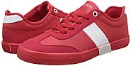 United Colors of Benetton Shoes in Red and While Color Combo | Men's Sneakers