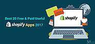 Free & Paid Useful Shopify Apps to Boost Sales 2017 | Metizsoft