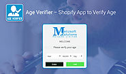 Age Verifier | Shopify App to Verify Age