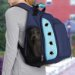 Enclosed Rolling Backpack Pet Carrier