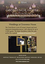 Weddings at Grosvenor House