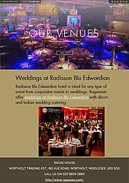 Weddings at Radisson Blu Edwardian