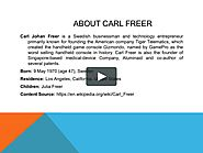 Carl Freer - Founder of Tiger Telematics