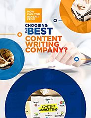 How can you benefit from choosing the best content writing company?