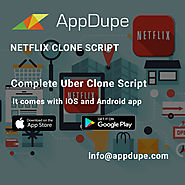 Be the founder of the next best app in the market! Get the Netflix clone and start off.