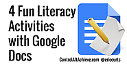 4 Fun Literacy Activities with Google Docs