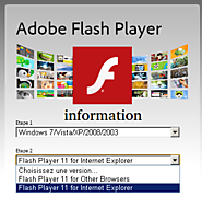 Adobe flash player customer service always best for any kind of error