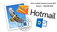Are you looking for delete Hotmail account 2017