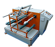 Doctoring Rewinding Machine, Winding Rewinding Machine Manufacturer India
