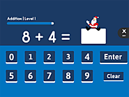 Christmas Lights - A Holiday & Math Computer Activity for Kids