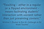 Response: 'Flipped Learning' Does Not Just Mean 'Posting Videos'