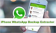 How to Recover & Extract WhatsApp Messages from iPhone Backup