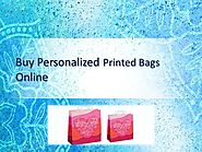 Buy Personalized Printed Bags