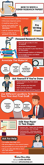 Infographic: Tips for Writing a Research Paper That Earns an 'A'