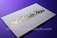 After Hours Luxury Business Cards Printing