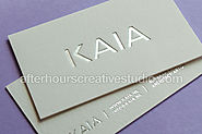 Super Luxury business cards
