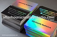 High End Luxury Business Cards